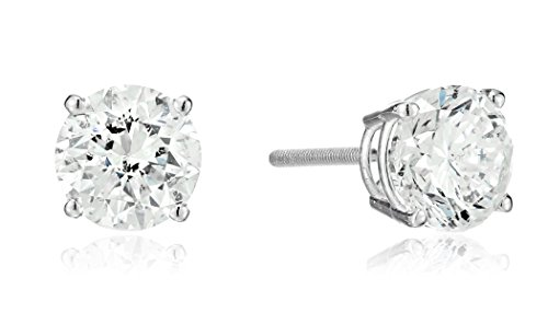 14k-White-Gold-Round-Cut-Diamond-Screw-Back-and-Post-Stud-Earrings-2cttw-H-I-Color-I2-Clarity