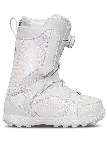 Thirtytwo STW Boa Women's Snowboard Boots, White, Size 5