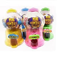 12 x Mini Gumball Machine - Fun Sweets Dispenser - Wholesale Bulk Buy