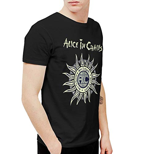 Douglas-A Mens Cool Alice in Chains Tee and Washed Denim Hat Casquette XXL Black for $<!--$14.77-->