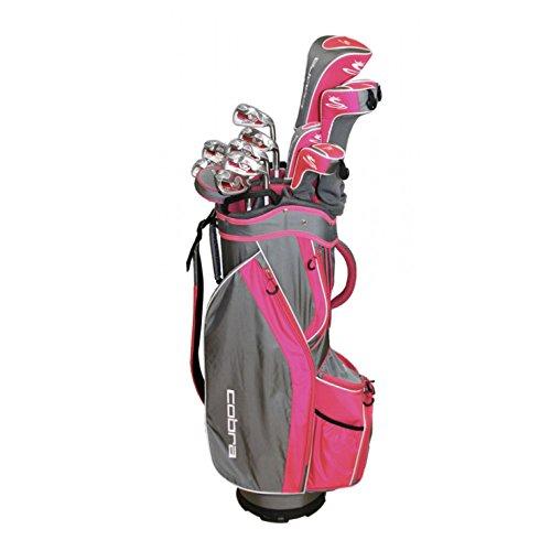 Cobra Flyz S Women's 13Pc Right Hand Pink Complete Set -  Cobra-Puma Golf, 6408RGLCS13