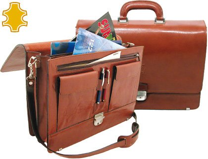 Portefeuille portefeuille Artesania de cuir avec clip Dimensions: 40,3x 30x 10,5cm.