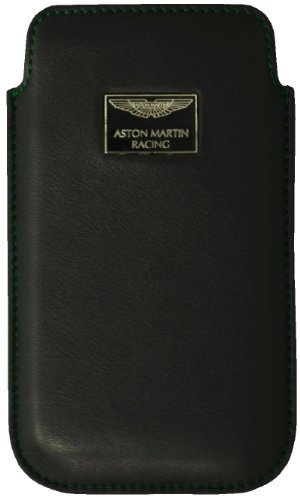 Aston Martin Étui Chic pour iPhone 4/4S–Noir