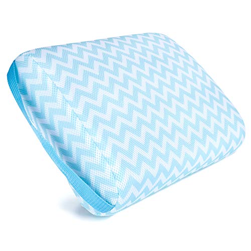 - Kenley Hot Tub Booster Seat - Submersible Weighted Jacuzzi Spa Pillow - Washable Cushion Cover