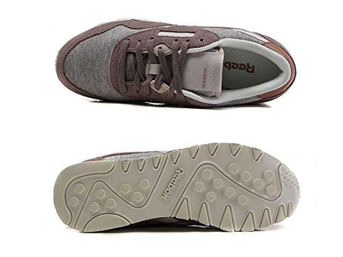 Reebok - Zapatillas de Ante para mujer blanco blanco/rosa