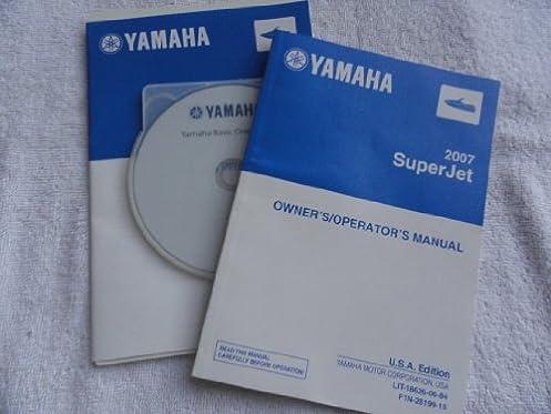 2007 yamaha superjet super jet jet ski owners manual yamaha rh amazon com 1999 yamaha jet ski owners manual yamaha jet ski repair manual