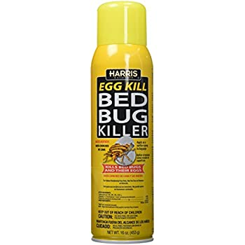 Amazon Com Harris Bed Bug Egg Killer 16oz Aerosol Spray