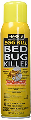 Harris Bed Bug and Egg Killer, 16oz Aerosol Spray