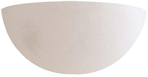 Minka Lavery Wall Sconce Lighting 350, White Ceramic Wall Lamp Fixture, 1 Light, 100 Watts, White 1 Light Halogen Wall Sconce