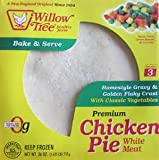 WILLOW TREE PREMIUM CHICKEN POT PIE WITH VEGETABLES 26 OZ PACK OF 2