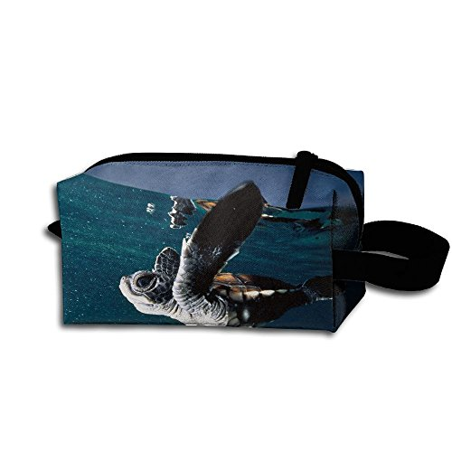 Makeup Cosmetic Bag Animals National Ocean Zip Travel Portable Storage Pouch For Men Women by Alone
