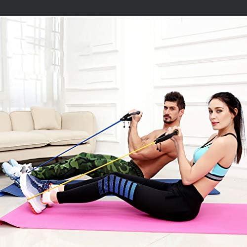 Makalon 2020 Resistance Bands Tube Workout Exercise Elastic Band Fitness Equipment Yoga Home 8