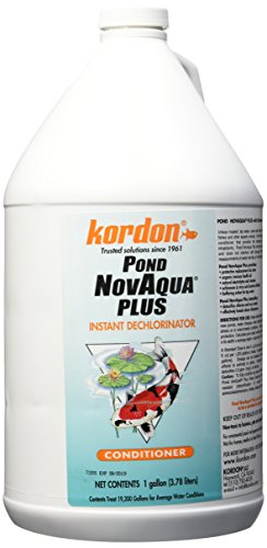 KORDON  #30011   Pond NovAqua Plus Concentrated Conditioner for Aquarium, 1-Gallon