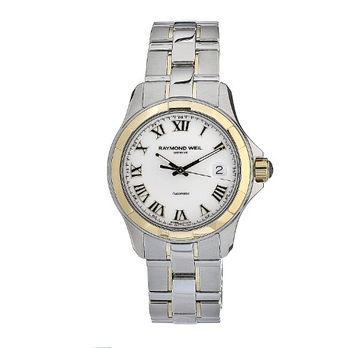 Raymond Weil Men's 2970-SG-00308 Automatic Stainless Steel White Dial Watch
