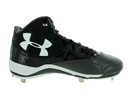 Under Armour UA Ignite Mid ST CC baseball Cleats Black