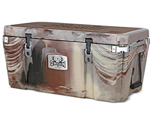 Orion Heavy Duty Premium Cooler (85 Quart, Desert), Durable Insulated Outdoor Ice Chest for Maximum Cold Retention - Portable, Bear Resistant, and Long Lasting, Great for Hunting, Fishing, Camping
