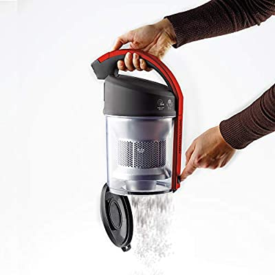 Polti Forzaspira C110_Plus Aspirador cicónico sin bolsa, 2 litros capacidad depósito de recogida, 800 W, 80 Decibelios, Rojo: Amazon.es: Hogar