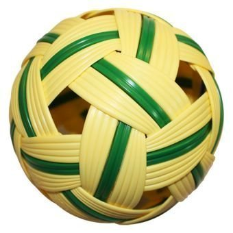 Sepak Takraw Ball Thailand (Foot Volleyball) by Arinjit