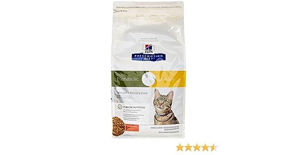 Amazon.com : HillS Prescription Diet Metabolic + Urinary Feline - Chicken Flavor - 12Lbs : Pet Supplies