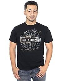 Harley-Davidson Mens Custom Options Metal B&S Black Shirt