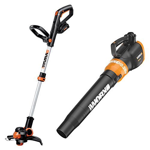Worx WG921 20V Max String Trimmer Edger and Blower Combo Kit