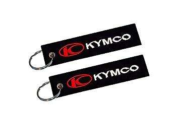 Moto Discovery Kymco Llavero Doble Cara (1 Pieza): Amazon.es ...