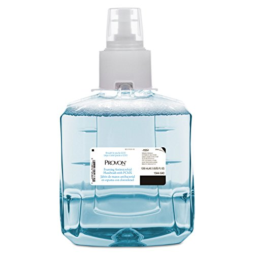Foaming Antimicrobial Handwash With Pcmx, Floral Scent, 1200 Ml Refill, 2/ct