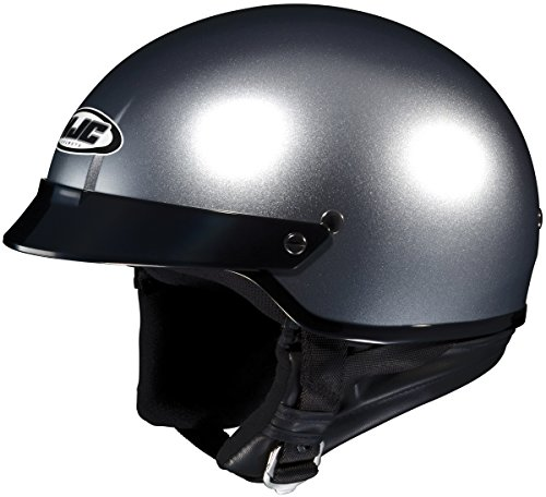 HJC CS-2N Open Face Motorcycle Helmet Anthracite Extra Large XL