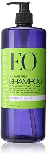 EO Essentials Rosemary and Mint Shampoo 32oz by Kodiake (Abba Pure Shine Conditioner)