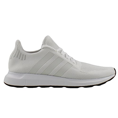 Adidas Men's Swift Run Shoes,White/Crystal White/Black,8.5 M US