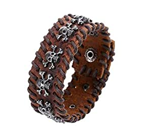 Bracelet Fashion Casual Personality Punk style skull Durable Bracelet Accessory For Men