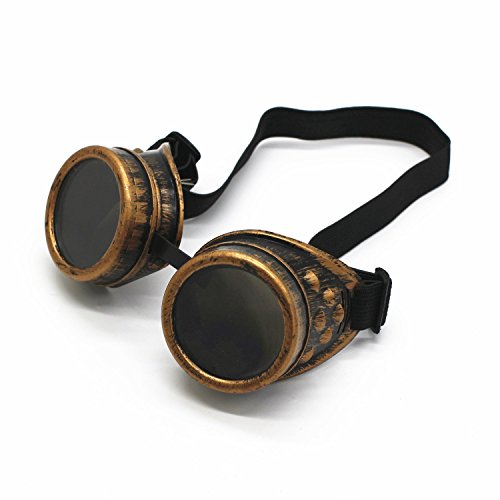 Cyber Goggles - LONG TAO New Sell Vintage Steampunk Goggles Glasses Welding Cyber Punk Gothic