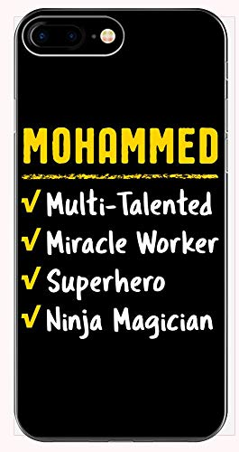 Mohammed Talented Superhero Ninja Miracle Worker Name Pride Funny Saying Gift - Phone Case for iPhone 6+, 6S+, 7+, 8+ (Super Best Friends Mohammed)