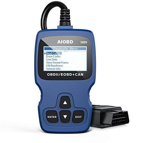 AIOBD 3009 OBD2 Code Reader, Automotive Engine Fault Code Reader CAN Scan Tool Diagnostic Scan Tool