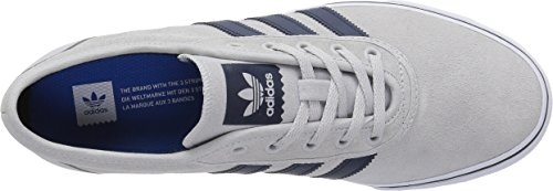 Adidas Originals Adi-Ease Fashion Sneaker, Light Grey Heather Solid Grey/Collegiate Navy/White, 9 M US