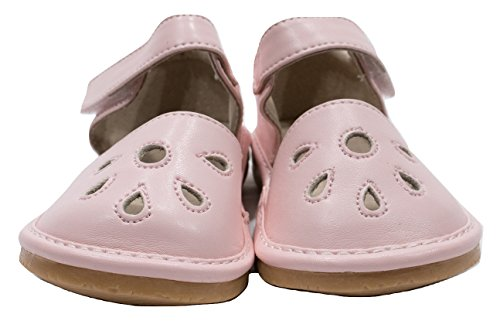 Squeaky Shoes For Toddler Girls (4, Pink Sandal) - Baby Girl Squeaker Shoes