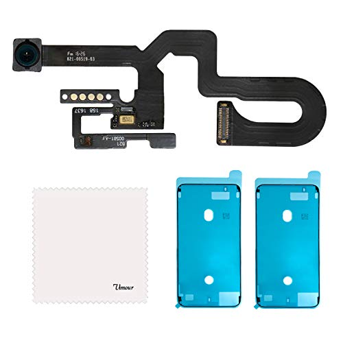 Vimour OEM Original Front Camera Proximity Light Sensor Cable Ribbon Assembly Replacement for iPhone 7 Plus 5.5 Inches Model (A1661, A1784 and A1785) with 2 Pieces OEM Screen Adhesive Tapes