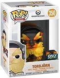 Pop Overwatch: Molten Core Torbjorn Collectible Figure, Multicolor