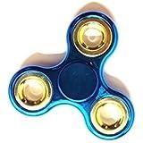 Premsons Metal Look Fidget Spinner - Multi Color