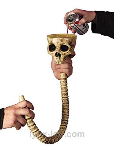 Beer Bong Costume (Fun World Skull Beer Funnel)