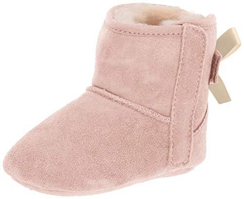 UGG Kids I Jesse Bow II Fashion Boot, Baby Pink, 2/3 M US Infant