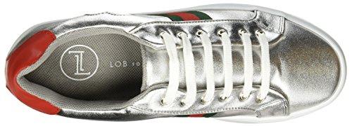 Plata 758 LOB de Mujer para 7604 Footwear Zapatillas Tenis PqUq8A5