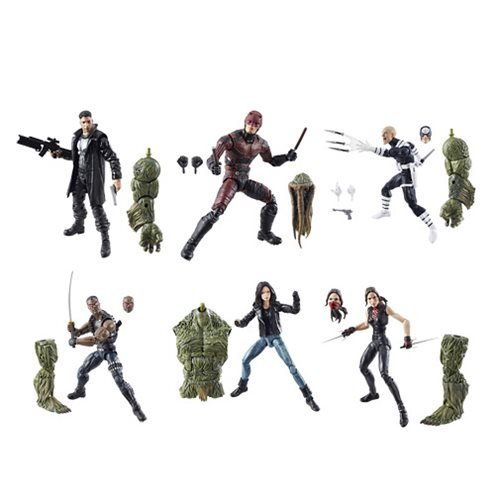 Marvel Knights Legends Series Set of 6 Netflix Man-Thing 6