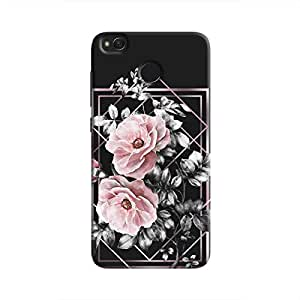 Cover It Up - Framed Flowers Redmi 4 Hard Case