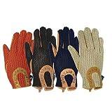 Mountain Horse Crochet Gloves Black, Large