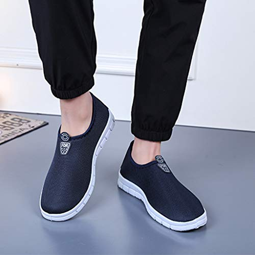 Men's Slip-On Shoes - Sport Sneakers Comfortable Footwears Loafers Shoes,2019 New by MEN SHOES BIG PROMOTION-SUNSEE (Image #1)
