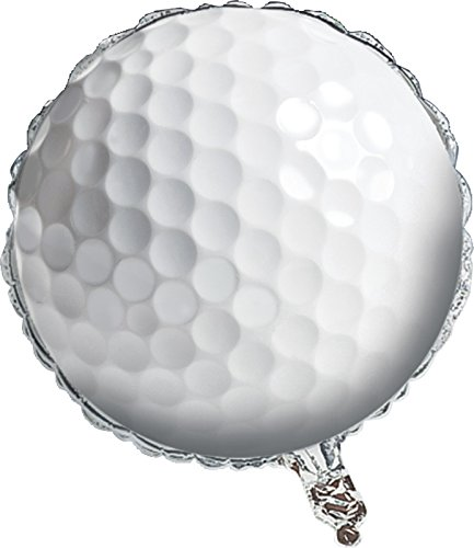 Creative Converting 47965 Sports Fanatic Golf Metallic Balloon,