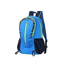 NODLAND Light Weight Backpack, 30L Foldable Hiking Outdoor Daypack Men Women Blue