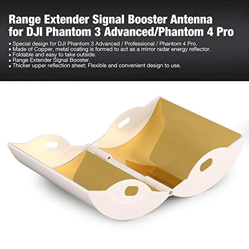Blanc BFHCVDF Antenne Booster de Signal dextension de Gamme pour DJI Phantom 3 Advanced//Phantom 4 Pro