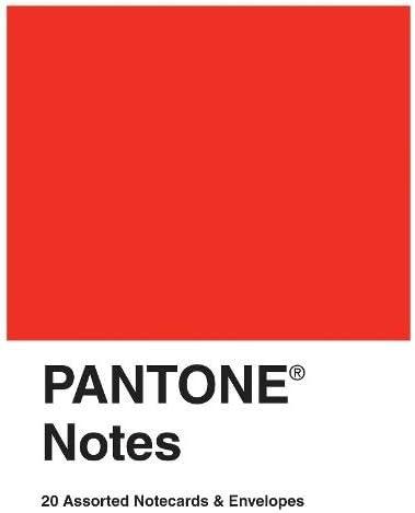 Amazon.com: Pantone Notes: 20 tarjetas y sobres surtidos ...